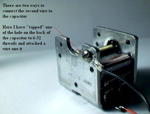 how to use variable capacitor