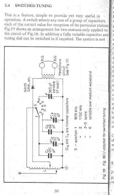 crystal radio plans  schematics  and circuits