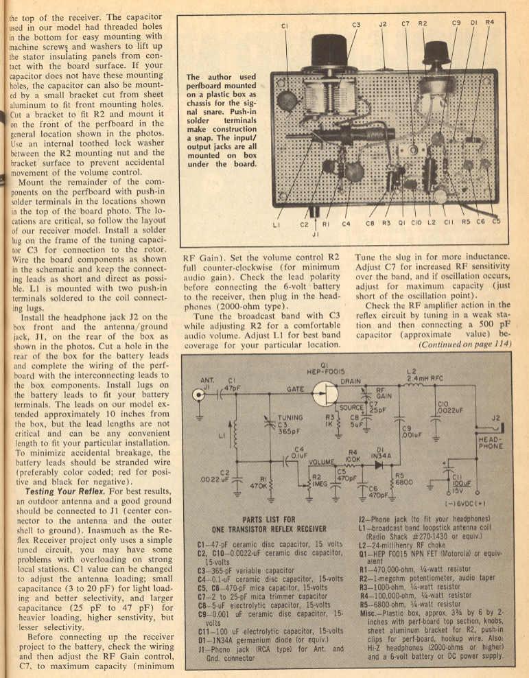 how to build a transistor radio pdf