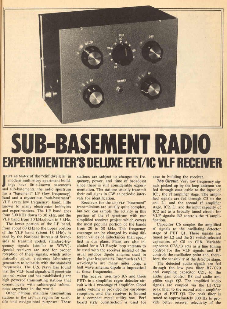Transistor Plans