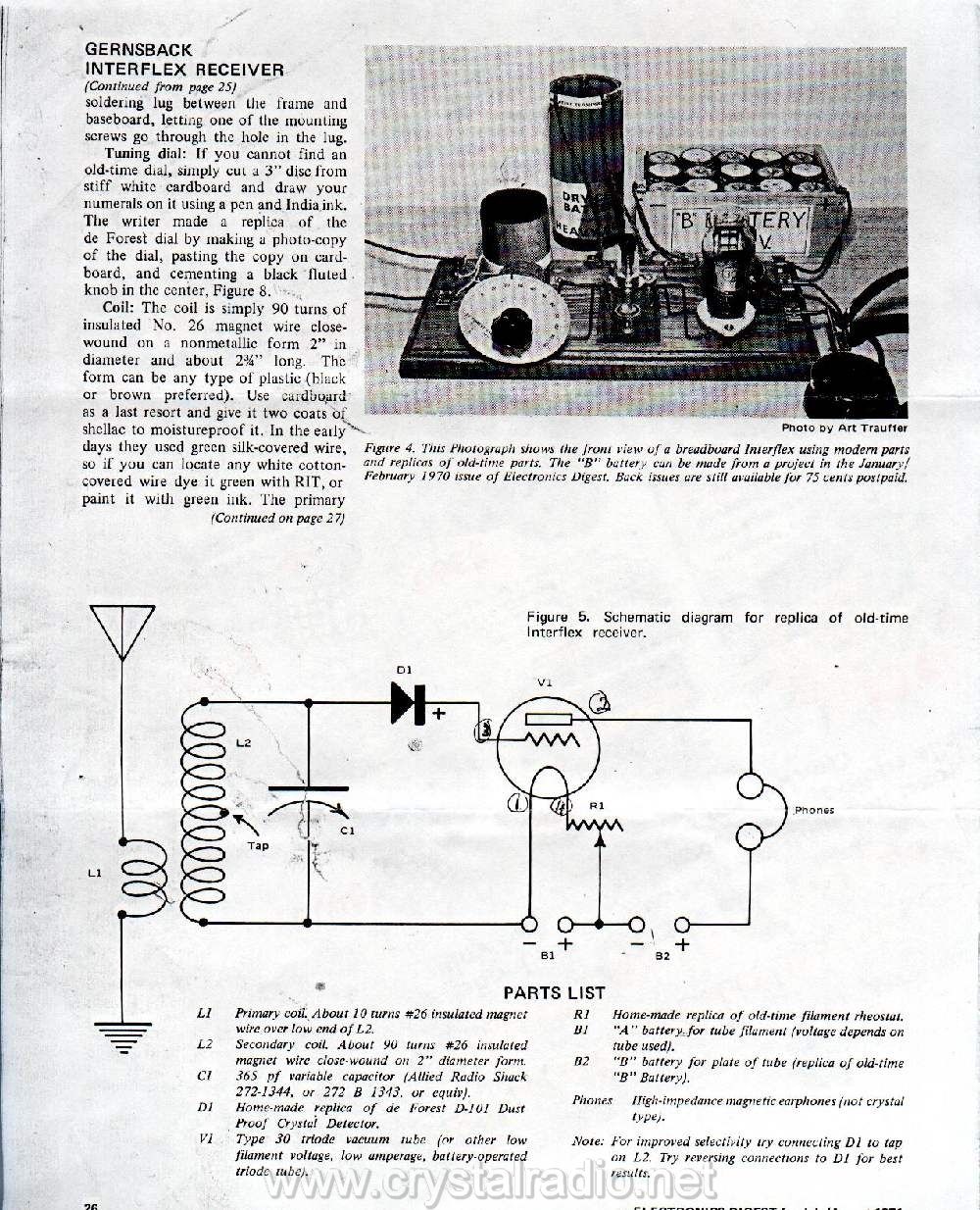 Tube Circuits Regen Radio Circuit Page 1 2